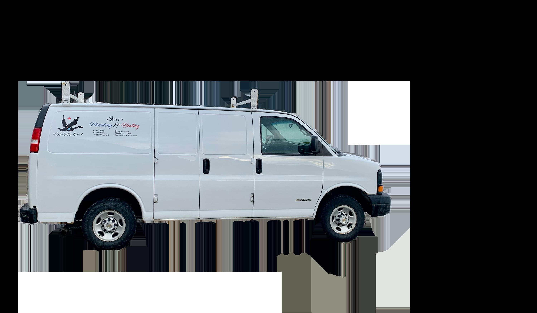 Goosen Plumbing and Heating Van