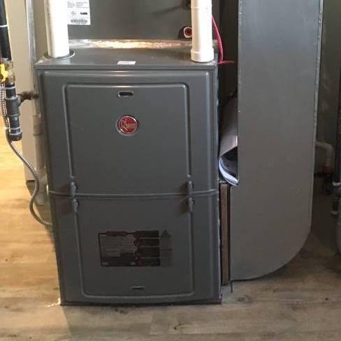 Goosen Plumbing and Heating Furnace